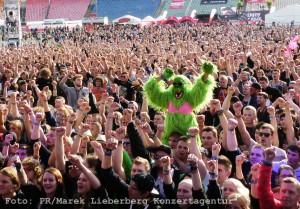 Sogar die Affen rocken beim RNH - Foto: PR/Marek Lieberberg Konzertagentur