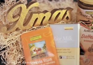 Das war drin im Paket (veganes Weihnachtswichteln 2014)