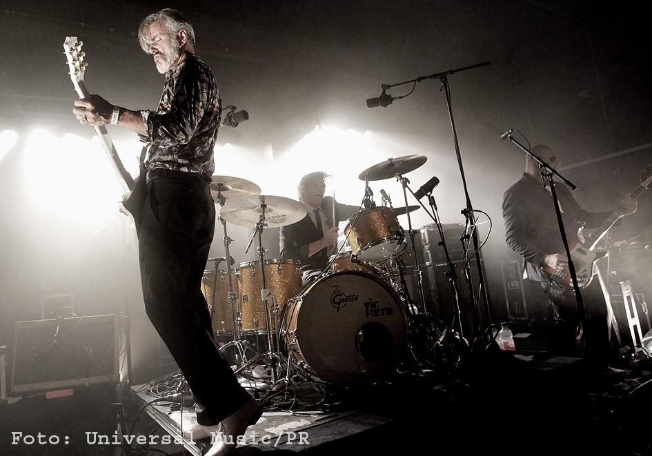 Triggerfinger live beim Reeperbahn Festival Hamburg 2014 (Universal Music/PR)
