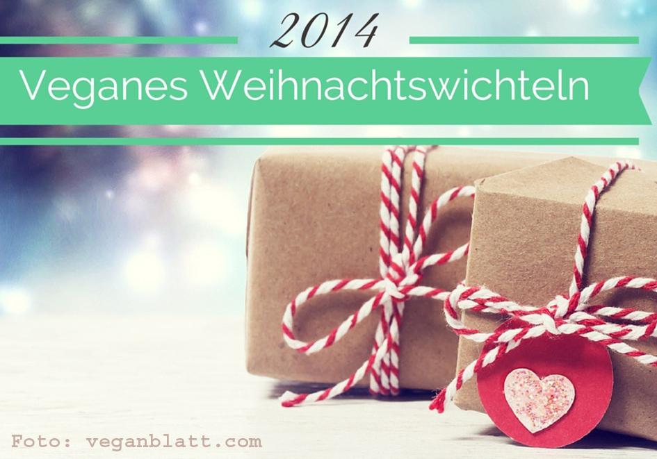 Veganes Weihnachtswicheln (veganblatt.com)