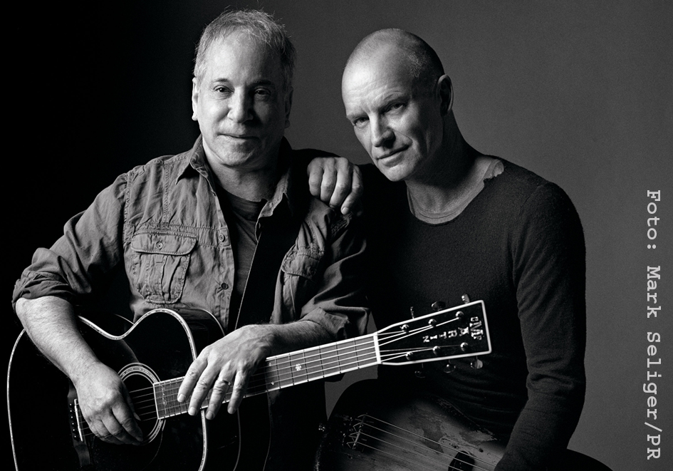 Paul Simon + Sting PR Mark Seliger