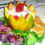 H10 Playa Meloneras Palace - Dessert, Exotischer Sojajoghurt (Foto von Elisa Reznicek)