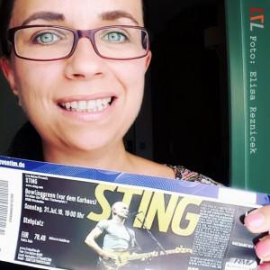 Selfie: Elisa geht zu Sting & freut sich riesig!