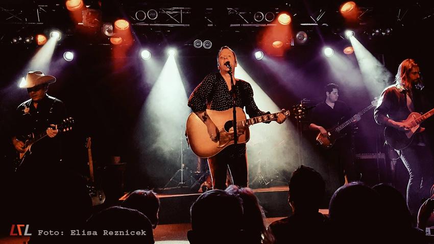 Bild: Kiefer Sutherland live im Debaser Stockholm, 4.6.17