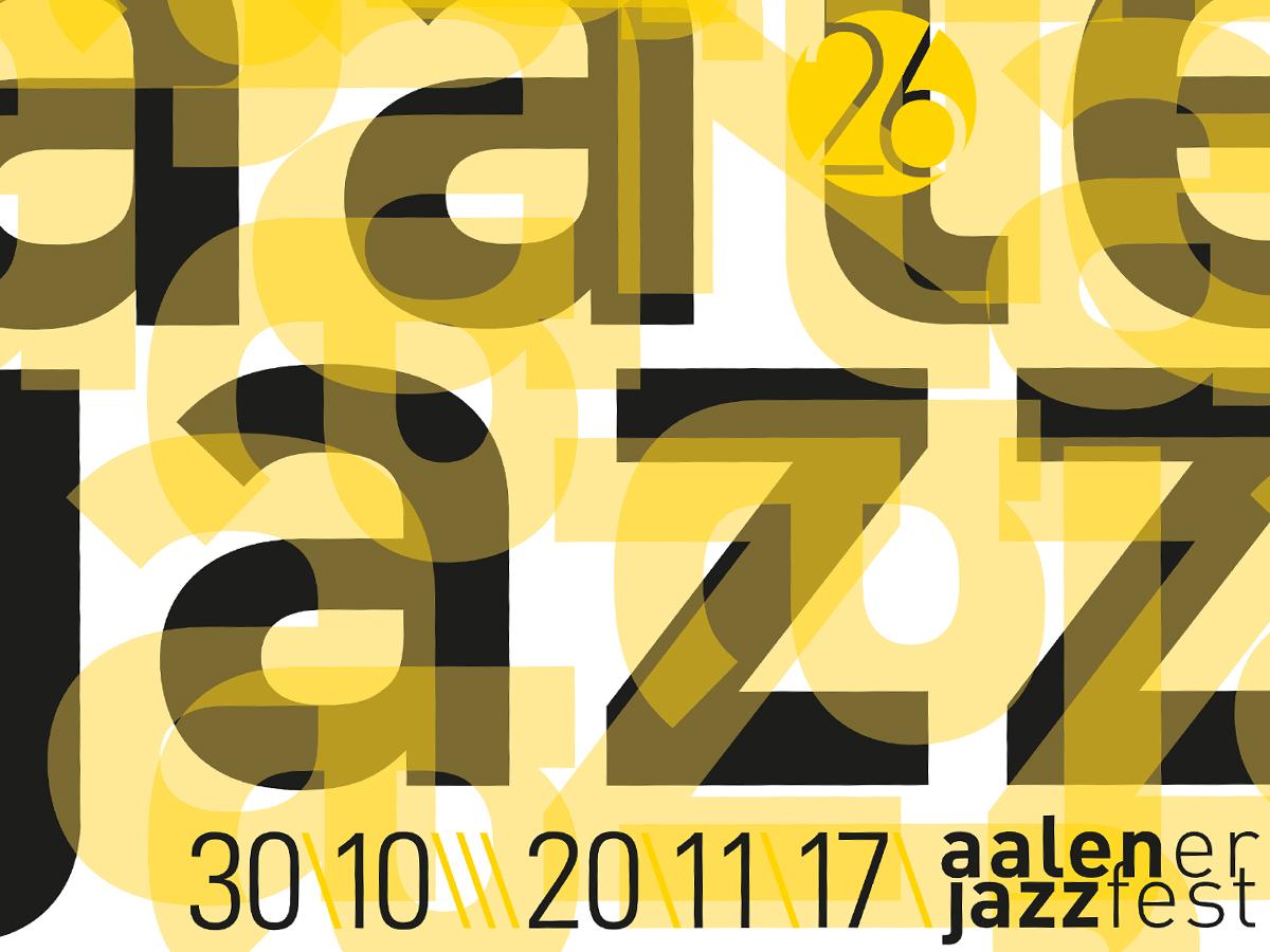 Plakat: 26. Aalener Jazzfest (Ausschnitt)