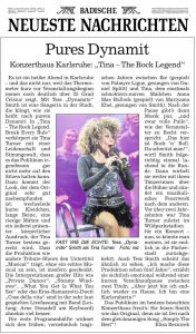 BNN-Kritik: Tina - The Rock Legend von Elisa Reznicek