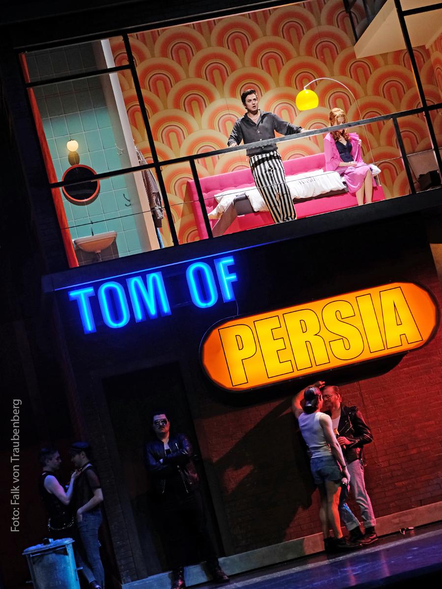 """Der Prince of Persia wird zum """"Tom of Persia"""" ;-) (Foto: Falk von Traubenberg)"""